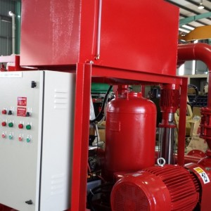 Fire Fighting System- Skid Mounted Unit